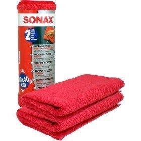 Салфетки Тряпки из микрофибры для кузова 2шт SONAX