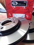 Тормозные диски Hyundai Accent (MC, 2005-10) / Solaris (RB, 2011-) передние, фото 2