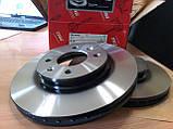 Тормозные диски Hyundai Accent (MC, 2005-10) / Solaris (RB, 2011-) передние, фото 8