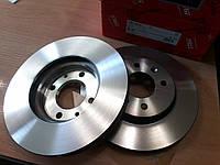 Тормозные диски Hyundai Accent (MC, 2005-10) / Solaris (RB, 2011-) передние, фото 1