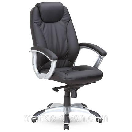 Кресло Неон HB кожзам черный (J-9024 PU Black)., фото 2