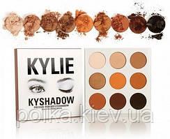 Kylie Kyshadow The Bronze Palette палетка теней бронзовых из 9 цветов