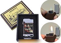Зажигалка подарочная Honest (Острое пламя) №2818-2 SO
