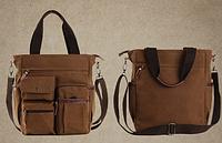 Мужская кожаная сумка. Модель 61252, фото 6