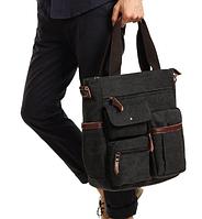 Мужская кожаная сумка. Модель 61252, фото 4