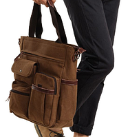 Мужская кожаная сумка. Модель 61252, фото 3
