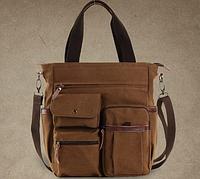Мужская кожаная сумка. Модель 61252, фото 5