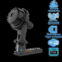 Wi-Fi мини камера Escam Button Q6 IP камера видеонаблюдения