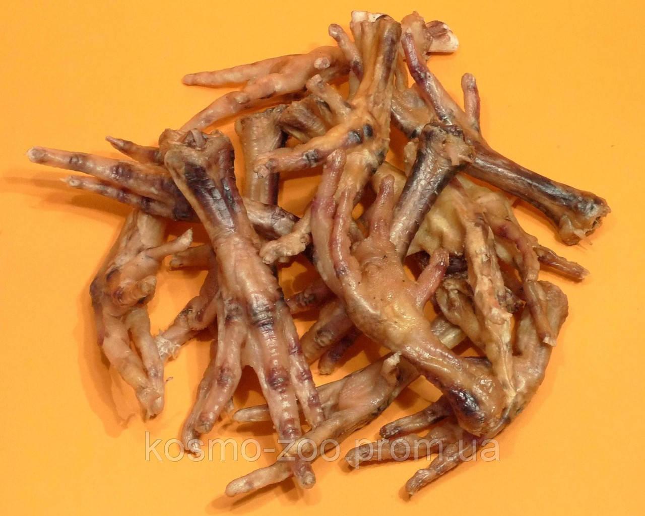 Сушеные лапки куриные (лакомство для собак)