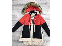 """Женская куртка """"Аляска"""" три цвета"""