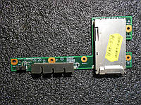 Плата индикации картридер ноутбука Sony vaio vgn-FJ270 FJ370 FJ170 DARD1AB18D1 CNX-339
