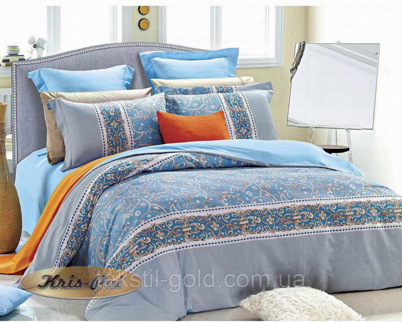 1,5-спальный комплект постельного белья ТМ Kris-pol (Украина) сатин хлопок 16913110003
