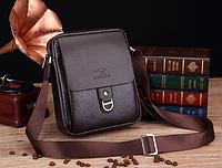 Мужская кожаная сумка. Модель 61253, фото 5