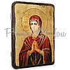 Деревянная икона Пресвятой Богородицы «Умягчение злых сердец», 17х23 см (814-2011), фото 2