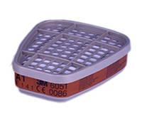 Фильтр 3М 6051 от органических паров класса А1 для масок серии 6000/7000