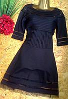 Брендовое платье MIU NIU 1604 черный S