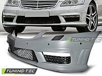 Передний бампер Mercedes  W221 2005-2013  AMG-стиль
