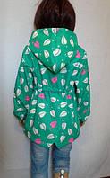 Куртка парка на маленькую девочку
