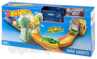 Игровой трек Hot Wheels Ограбление банка