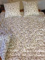 Одеяла шерстяные с обшивкой хлопковой