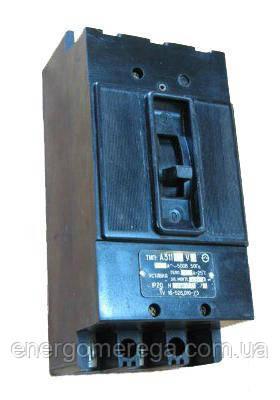 Автоматический выключатель А 3163 40А-60А