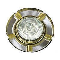 Светильник декоративный 098 R-39 титан-золото / круглый/ TN-GD, Feron