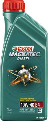 Моторна олива Castrol Magnatec 10W-40 А3/ B4 1 л, фото 2