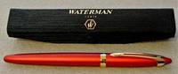 Ручка шариковая Waterman Ice & La красная с позолотой в шелковом футляре Франция оригинал