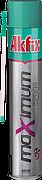 Пена монтажная akfix MAXIMUM 70л с трубочкой
