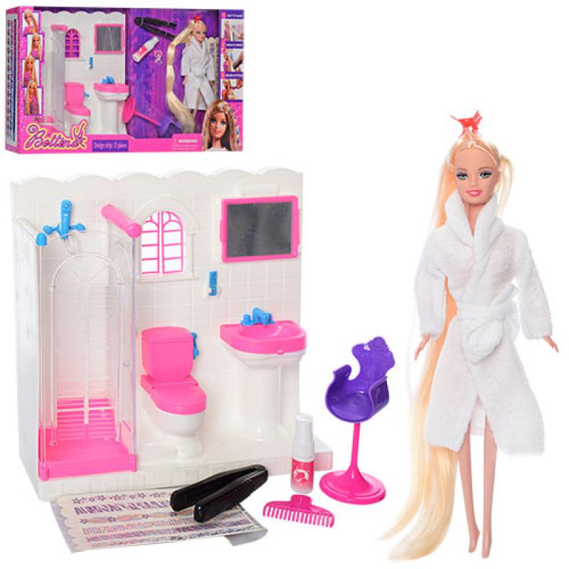 Мебель 68027 ванная комната, кукла 29 см