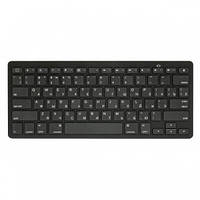 Клавиатура HQ-Tech KB-105BT USB, Black, Mini, беспроводная (Bluetooth 3.0),
