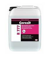 Грунтовка Церезит Р 777 (Ceresit R 777) для улучшения сцепления самовыравнивающихся смесей канистра 10 литров