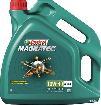 Моторна олива Castrol Magnatec 10W-40 А3/ B4 4 л, фото 2
