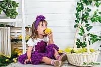 Детская пышная Pettiskirt юбка Аметист