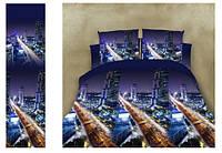Комплект постельного белья город 5 д двуспальный