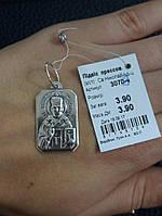 Серебряная иконка Св. Николай