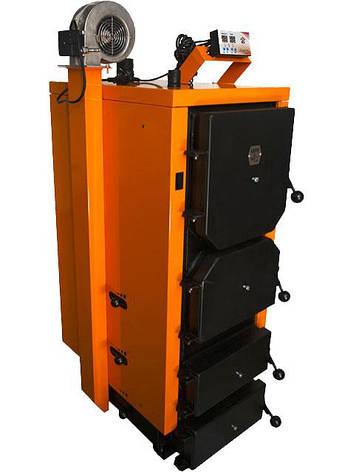 Котел длительного горения Донтерм ДТМ 13 кВт Турбо, фото 2