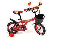 """Велосипед детский Cars 16"""" + болотники"""