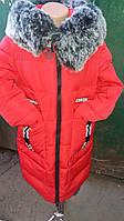 Пальто детское на зиму