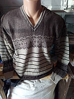 Мужской качественный шерстяной джемпер 48-52рр
