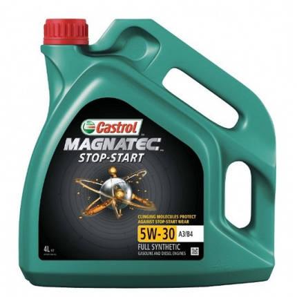 Моторна олива Castrol Magnatec Stop-Start 5W-30 A3/В4 4л, фото 2