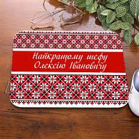 Коврик для мышки с украинским узором
