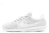 Кроссовки мужские Nike Cortez Ultra BR White (найк кортез) белые