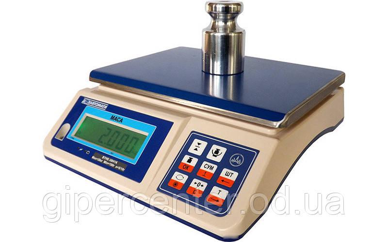 Весы фасовочные электронные ВТНЕ/1-3Н1 до 3 кг, точность 1 г - GIPERCENTER Odessa в Одессе