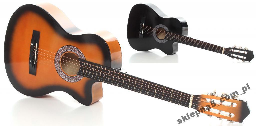 Акустична Гітара 4/4 + 2 КОЛЬОРИ!!!