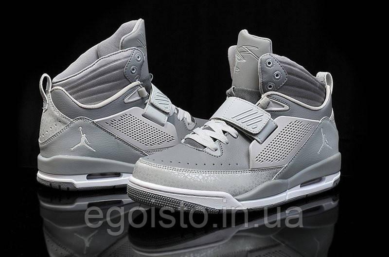 7e3183cc4bc5 Мужские баскетбольные кроссовки Nike Air Jordan Flight 97 (найк аир  джордан) серые