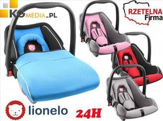 """Автокрісло для немовлят """"LIONELO NOA 0-13 кг"""