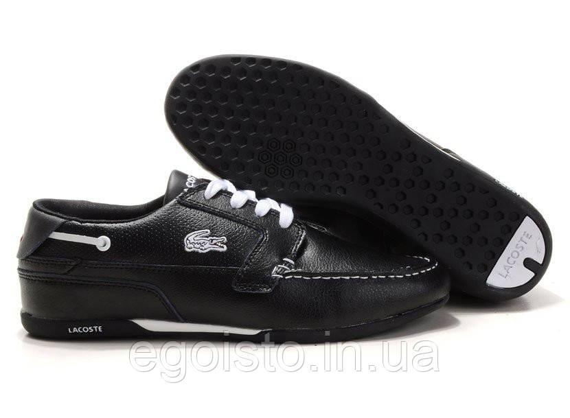 67531046112c Мокасины мужские Lacoste Dreyfus Black (лакост) черные - Интернет-магазин  брендовой обуви
