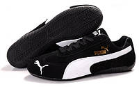 Кроссовки мужские Puma Puma Speed Cat SD Ferrari Black White (пума)