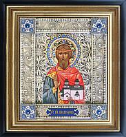 Святой Владислав скань икона